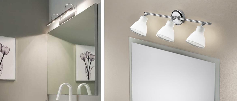 Illuminazione Specchio Bagno – Faretti, Lampade e Applique - Progetti in Luce